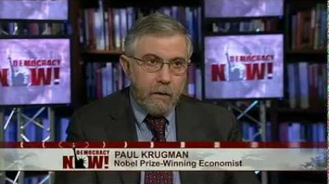 """""""End This Depression Now"""" Paul Krugman"""