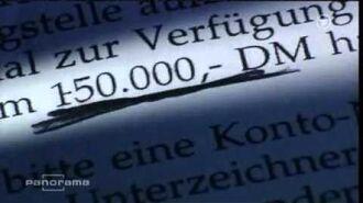 Panorama - Schröder Verbotene Parteispenden - Tipp Parteispenden ABC