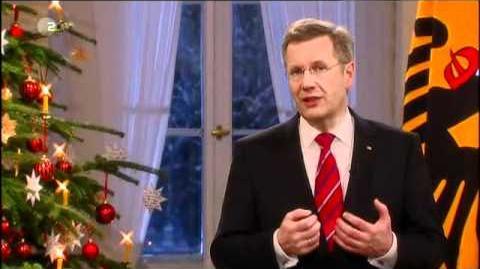Weihnachtsansprache 2010 - Bundespräsident Christian Wulff