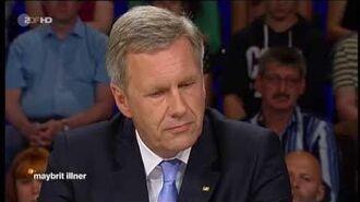 """Maybrit illner 24.07.2014 Christian Wulff - Sind Justiz und Medien zu weit gegangen?"""" HD"""