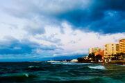 Stormy morning in Marbella
