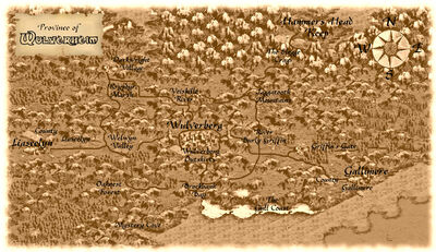 Wulverheim map