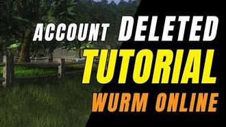 WURM ONLINE (5.25.2019) Account Deleted! Restarting In Tutorial Again!