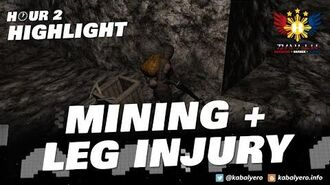MINING And LEG INJURY • WURM ONLINE Gameplay (Hour 2 Highlight)