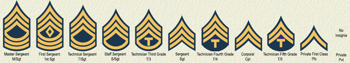 United States Army Ranks | The United World War II Wiki