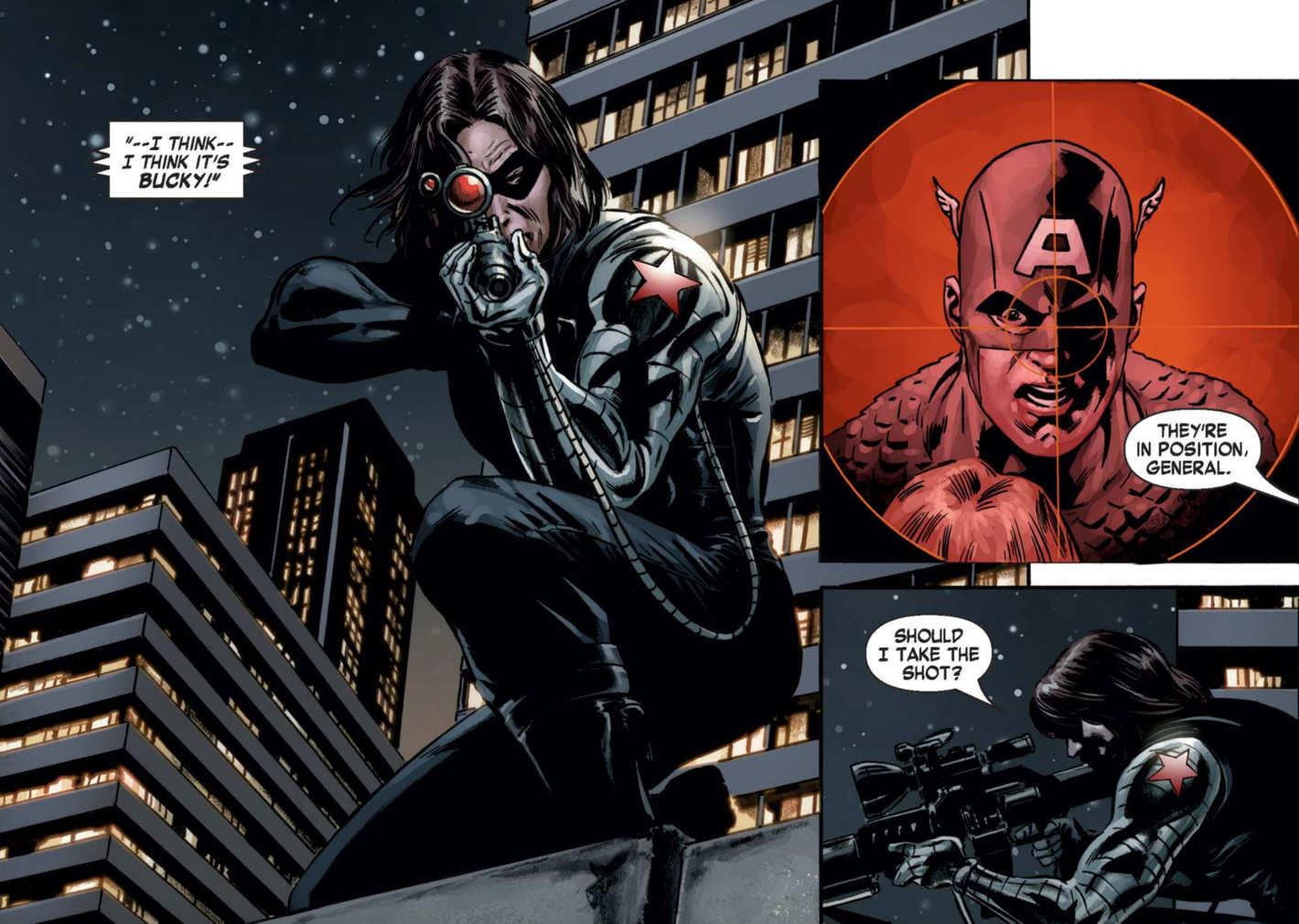 Bucky Barnes Comics Gallery Who S Who In Comic Book Movies Wikia Fandom