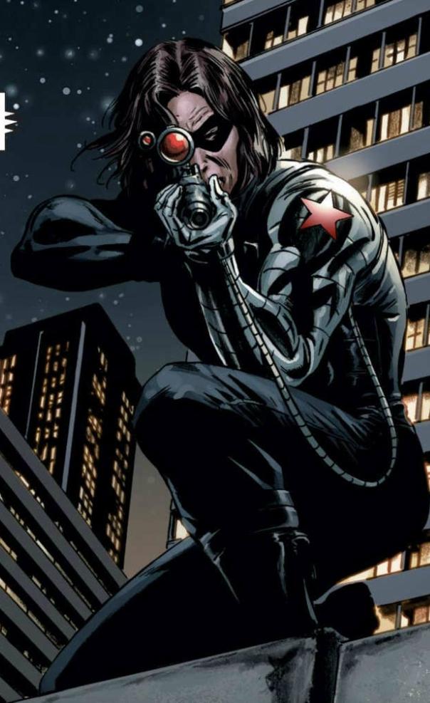 Bucky Barnes (Comics) ...