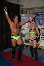 Joey Ryan & Candice LeRae