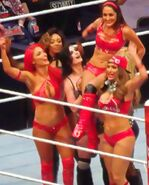 Total Divas team WrestleMania 32