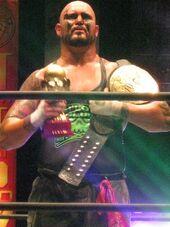Doc Gallows IWGP Heavyweight Tag Team Champion