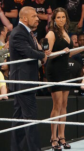 Triple H and Stephanie McMahon 2014
