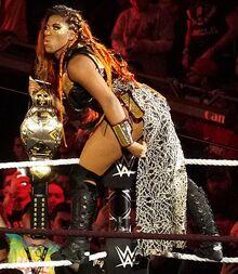 Ember Moon NXT Women's Champion