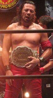 Shinsuke Nakamura IWGP Intercontinental Champion