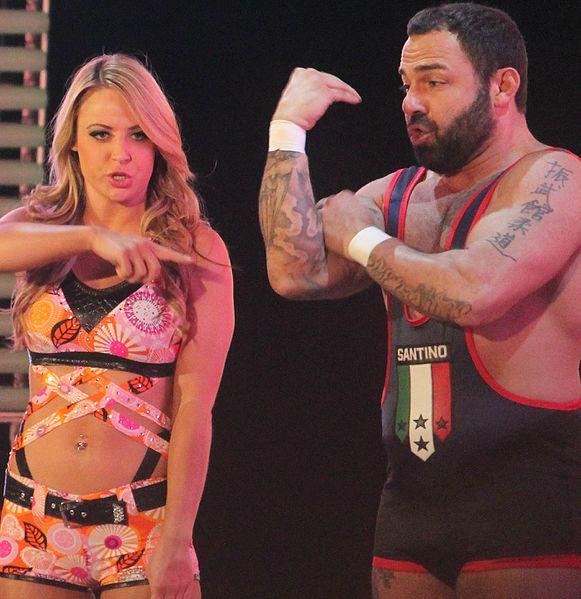 WWE Santino & Emma cropped