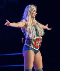 Charlotte with belt