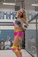 Leah von Dutch with XBW belt