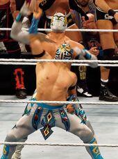 Lucha Dragons Raw 2015