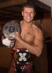 Cody Rhodes ROH World Champion
