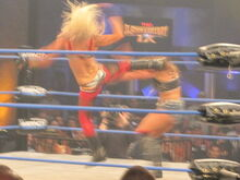 TNA Slammiversary Mickie James vs. Angelina Love w Winter Botox Inyection