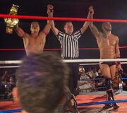 674px-Yoshino and Ricochet Tag Champions