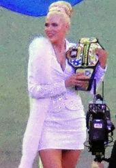 Lana At WrestleMania 31