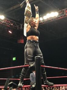 NXT United Kingdom Women's Champ Rhea Ripley