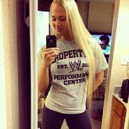 Sarah Backman WWE
