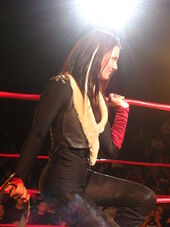 Katarina Waters at TNA Live