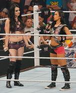 AJ Challenges Paige