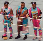 The New Day WWE Tag Team Champions Raw April 2016