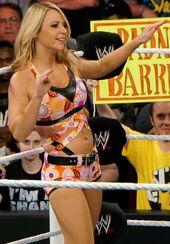 Emma dance at Raw April 2014