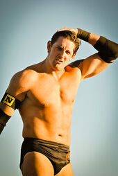 Wade Barrett 2010 Tribute to the Troops