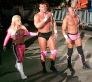 The Hart Dynasty at a Puerto Rico House show