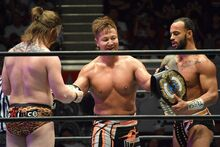 Satoshi Kojima, Ricochet and David Finlay NEVER Openweight 6-Man Tag Team Champions
