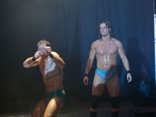Kyle O'Reilly and Adam Cole