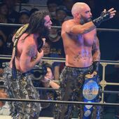 The Briscoe Brothers IWGP Tag Team Champions