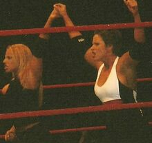 Molly Holly and Trish Stratus Live event (cropped)