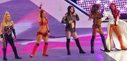 Total Divas team WrestleMania 32 2
