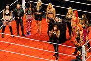 Presentation of the WWE Women's Champion on Raw April 2016
