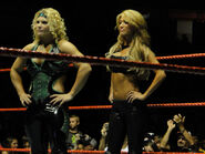 Beth Phoenix and Rosa Mendes
