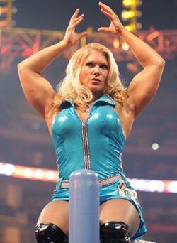 Evil Beth Phoenix @ SummerSlam 2011