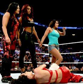 Aksana, Alicia, and Layla
