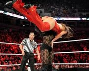 Aksana body slam