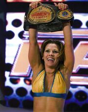 Mickie as women's champion