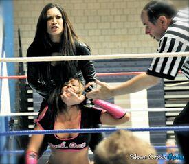 Evil Melina vs Velvet Sky