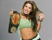 Mickie James as women's champion