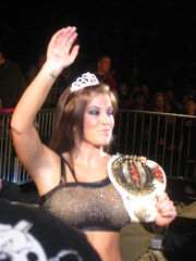 Madison Rayne KO Champion