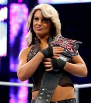 Kaitlyn as the champ
