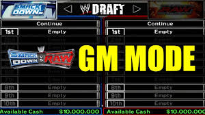 WWE GM Mode Wiki Photo