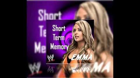"""Emma 1st WWE NXT Theme """"Short Term Memory"""" (Full) with Download Link"""